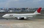 SH60J121さんが、福岡空港で撮影した日本アジア航空 747-346の航空フォト(写真)
