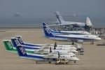 TADY BEARさんが、中部国際空港で撮影したANAウイングス DHC-8-314Q Dash 8の航空フォト(写真)
