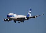 木人さんが、成田国際空港で撮影した日本貨物航空 747-281F/SCDの航空フォト(写真)