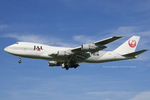 Scotchさんが、名古屋飛行場で撮影した日本航空 747-246Fの航空フォト(写真)