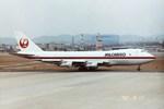 フライヤー320さんが、名古屋飛行場で撮影した日本航空 747-246F/SCDの航空フォト(写真)