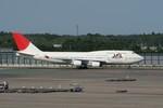 しんさんが、成田国際空港で撮影した日本航空 747-446の航空フォト(写真)