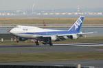 B747SR-SuperJumboさんが、羽田空港で撮影した全日空 747-481(D)の航空フォト(写真)