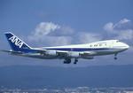 Espace77さんが、関西国際空港で撮影した全日空 747SR-81の航空フォト(写真)