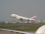 不知火さんが、羽田空港で撮影した日本航空 747-246Bの航空フォト(写真)