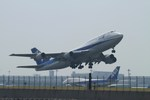 coconaruさんが、羽田空港で撮影した全日空 747-481(D)の航空フォト(写真)