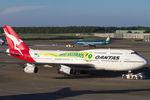 PINK_TEAM78さんが、成田国際空港で撮影したカンタス航空 747-438の航空フォト(写真)