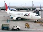 スカイマンタさんが、那覇空港で撮影した日本トランスオーシャン航空 737-4K5の航空フォト(写真)
