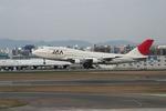さっしんさんが、福岡空港で撮影した日本アジア航空 747-346の航空フォト(写真)