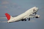 Koenig117さんが、中部国際空港で撮影した日本航空 747-446Dの航空フォト(写真)