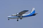 さわすけさんが、仙台空港で撮影した新中央航空 BN-2B-20 Islanderの航空フォト(写真)
