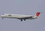 さわすけさんが、仙台空港で撮影した日本航空 MD-81 (DC-9-81)の航空フォト(写真)