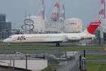 ぶる~すかい。さんが、羽田空港で撮影した日本航空 MD-87 (DC-9-87)の航空フォト(写真)