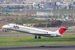 ぶる~すかい。さんが、羽田空港で撮影した日本エアシステム MD-87 (DC-9-87)の航空フォト(写真)
