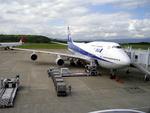 フェルプスさんが、鹿児島空港で撮影した全日空 747-481の航空フォト(写真)