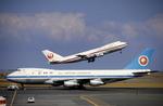 NAOSGさんが、羽田空港で撮影した全日空 747SR-81の航空フォト(写真)