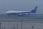 Re4/4さんが、羽田空港で撮影した全日空 747SR-81の航空フォト(写真)
