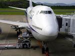 フェルプスさんが、長崎空港で撮影した全日空 747-481の航空フォト(写真)