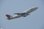 妄想竹さんが、羽田空港で撮影した日本航空 747-346の航空フォト(写真)