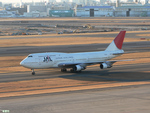 妄想竹さんが、羽田空港で撮影した日本航空 747-146B/SR/SUDの航空フォト(写真)