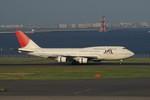 しんさんが、羽田空港で撮影した日本航空 747-446Dの航空フォト(写真)