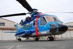 へりさんが、立川飛行場で撮影した警視庁 S-92Aの航空フォト(写真)