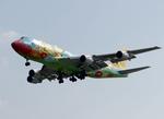 てるやっちさんが、那覇空港で撮影した全日空 747-481の航空フォト(写真)