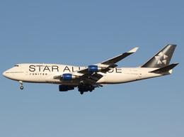 エアーワンさんが、成田国際空港で撮影したユナイテッド航空 747-422の航空フォト(写真)