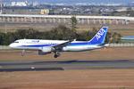 お-そ松さんが、仙台空港で撮影した全日空 A320-211の航空フォト(写真)
