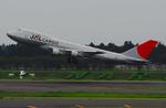 JESTARさんが、成田国際空港で撮影した日本航空 747-221F/SCDの航空フォト(写真)