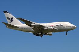 speedbirdさんが、成田国際空港で撮影したイラン航空 747SP-86の航空フォト(写真)