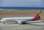 mickeyさんが、中部国際空港で撮影したアシアナ航空 767-38Eの航空フォト(写真)