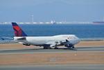 mickeyさんが、中部国際空港で撮影したデルタ航空 747-451の航空フォト(写真)