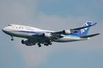 ぶる~すかい。さんが、羽田空港で撮影した全日空 747-481の航空フォト(写真)