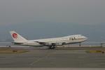 higaponさんが、関西国際空港で撮影した日本アジア航空 747-246Bの航空フォト(写真)