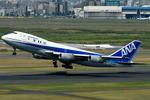 euro_r302さんが、羽田空港で撮影した全日空 747SR-81の航空フォト(写真)