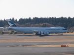 aquaさんが、成田国際空港で撮影したキャセイパシフィック航空 747-867F/SCDの航空フォト(写真)