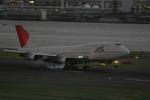 JA504Kさんが、羽田空港で撮影した日本航空 747-146B/SR/SUDの航空フォト(写真)