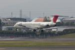 おぺちゃんさんが、伊丹空港で撮影した日本航空 MD-81 (DC-9-81)の航空フォト(写真)
