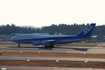 妄想竹さんが、成田国際空港で撮影した全日空 747-481の航空フォト(写真)
