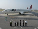 JA504Kさんが、石垣空港で撮影した日本トランスオーシャン航空 737-4K5の航空フォト(写真)