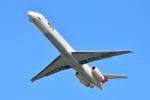 Frightmenさんが、福岡空港で撮影した日本エアシステム MD-81 (DC-9-81)の航空フォト(写真)