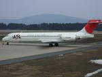 Cスマイルさんが、花巻空港で撮影した日本航空 MD-87 (DC-9-87)の航空フォト(写真)