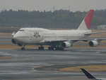 ろみぃさんが、成田国際空港で撮影した日本航空 747-446の航空フォト(写真)
