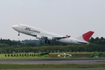 しんさんが、成田国際空港で撮影した日本航空 747-446(BCF)の航空フォト(写真)