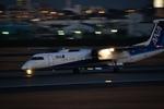 シマクロ7さんが、伊丹空港で撮影したANAウイングス DHC-8-314Q Dash 8の航空フォト(写真)