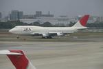 DML30さんが、福岡空港で撮影した日本アジア航空 747-346の航空フォト(写真)