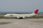 NIKEさんが、那覇空港で撮影した日本アジア航空 747-346の航空フォト(写真)