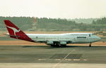 wunalaさんが、成田国際空港で撮影したカンタス航空 747-338の航空フォト(写真)
