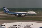 parurunさんが、新千歳空港で撮影した全日空 747SR-81の航空フォト(写真)